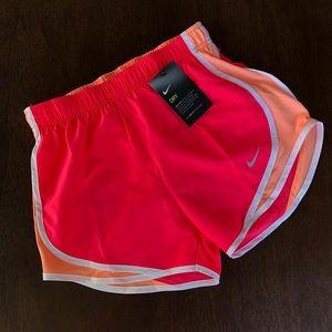 Nike Dri-fit running shorts hot pink/bright coral